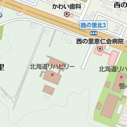 北広島市立西の里小学校の地図:...