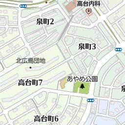 北広島市立緑ヶ丘小学校の地図:...