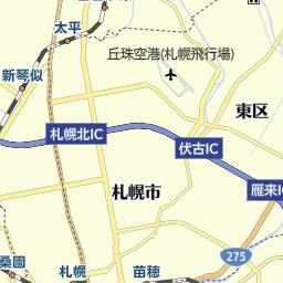 札幌市営地下鉄東西線 駅 路線図から地図を検索 マピオン
