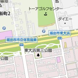 坂出市立東部中学校(坂出市/中学校)の地図|地図マピオン