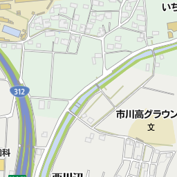 市川町立川辺小学校(神崎郡市川町/小学校)の地図 地図マピオン