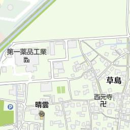 富山市立草島小学校(富山市/小学校)の地図 地図マピオン