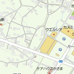高橋町(笠間市/地点名)の地図...